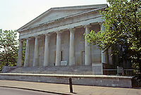 Philadelphia: Second Bank of U.S., 1818-1824. Architect, William Strickland. Photo '88.