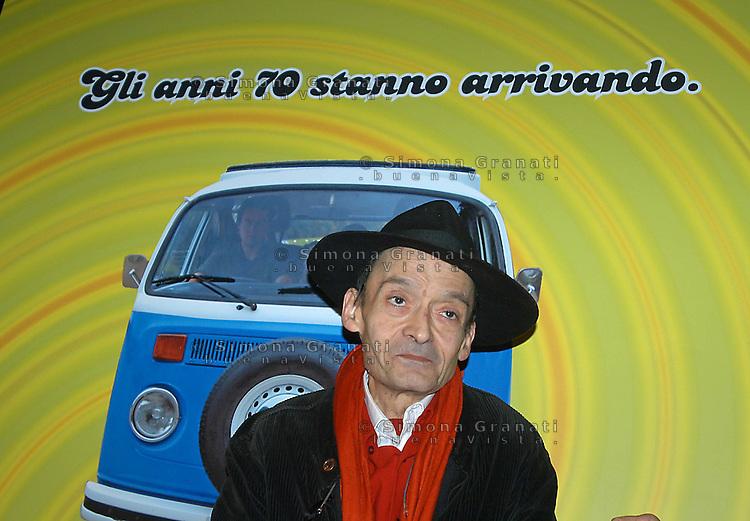 Roma 6 Febbraio 2007         .Casa del cinema.Oreste Scalzone.
