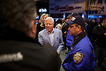 Owner of the New England Patriots, Robert Kraft,  arrives to see Bruce Springsteen and the E Street Band perform at the Apollo in New York...Photo by Robert Caplin.