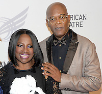 NEW YORK, NY - September26: Samuel L. Jackson and LaTanya Richardson attends American Theater Wing Honoring Cicely Tyson at 2016 Gala at the Plaza Hotel  on September 26, 2016 in New York City .  Photo Credit:John Palmer/MediaPunch