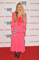 Laura Bailey at the &quot;Nocturnal Animals&quot; 60th BFI London Film Festival Headline gala screening, Odeon Leicester Square cinema, Leicester Square, London, England, UK, on Friday 14 October 2016.<br /> CAP/CAN<br /> &copy;CAN/Capital Pictures /MediaPunch ***NORTH AND SOUTH AMERICAS ONLY***