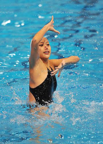 Mariko Sakai (JPN), SEPTEMBER 20, 2011 - Synchronised Swimming : Selection of the Synchronised Swimming Japan National Team for the qualification of the Oympic games in Lomdon, at Ajinomoto National Training center, Tokyo, Japan. (Photo by Atsushi Tomura/AFLO SPORT) [1035]