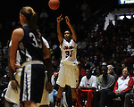 "Ole Miss' Whitney Hameth (30) vs. North Florida at the C.M. ""Tad"" Smith Coliseum in Oxford, Miss. on Friday, November 11, 2011."