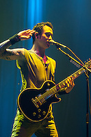 Trivium performing at Rod Laver Arena, Melbourne, 1 March 2012