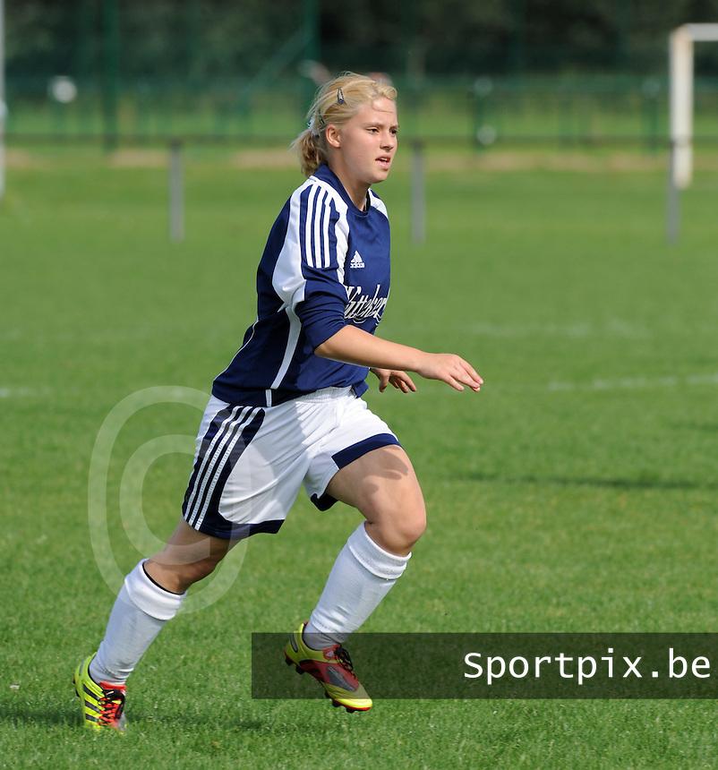 VV Rassing Harelbeke : Brenda Vandoorne.foto DAVID CATRY / VDB / BART VANDENBROUCKE