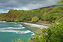Hamoa Beach, Hana Coast, Maui, Hawaii.