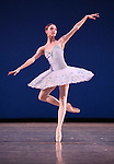 Olga Smirnova from the Bolshi Ballet performing  'Grand Pas Classique' during the rehearsal for 'Stars of the 21st Century' at the David H. Koch Theater at Lincoln Center  on October 18, 2012 in New York City.