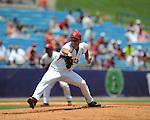South Carolina's Nathan Belcher was the losing pitcher vs. Mississippi during the Southeastern Conference tournament at Regions Park in Hoover, Ala. on Wednesday, May 26, 2010. Ole Miss won 3-0.