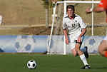 12 November 2008: Boston College's Stephen Hepburn. Boston College defeated Clemson University 1-0 in the second sudden-victory overtime period at Koka Booth Stadium at WakeMed Soccer Park in Cary, NC in a men's ACC tournament quarterfinal game.