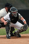 Vale cather Austin Tolman during the 3A Oregon State Baseball Championships first round game against Rogue River on May 25, 2011 at Cammann Field, Vale, Oregon...Tolman went 1 for 3 with two walks and an RBI in Vale's 12-2 win.