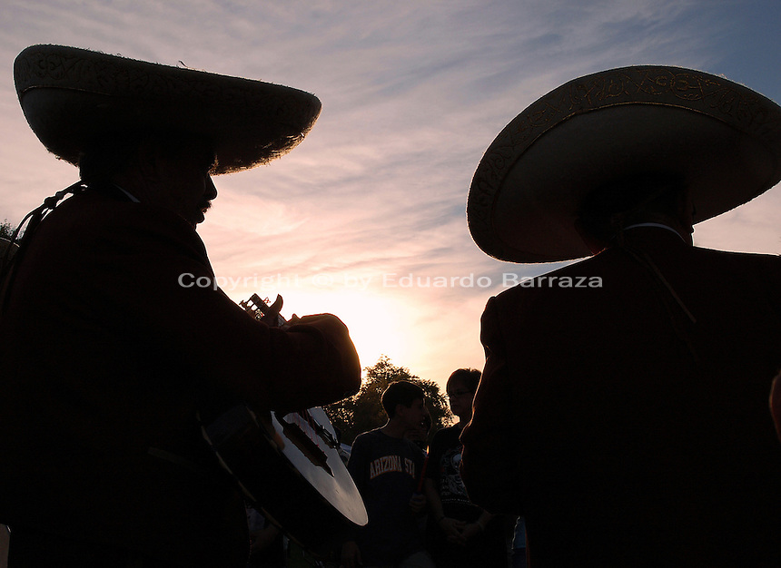 Mariachis, Mexico's best known folk music