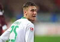 FUSSBALL   1. BUNDESLIGA  SAISON 2011/2012   18. Spieltag 1. FC Kaiserslautern - SV Werder Bremen        21.01.2012 Tom Trybull (SV Werder Bremen)