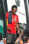 Michael Essien Training pre Zambia game