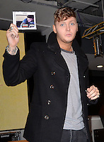 NOV 4 James Arthur CD Signing at HMV