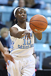 17 November 2015: North Carolina's Jamie Cherry. The University of North Carolina Tar Heels hosted the Florida A&M University Rattlers at Carmichael Arena in Chapel Hill, North Carolina in a 2015-16 NCAA Division I Women's Basketball game. UNC won the game 94-58.