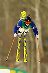 15 January 2005 - Lake Placid, New York, USA - Kathryn Bodzioch representing the USA, competes in the FIS World Cup Ladies' Moguls Freestyle ski competition, ranking 25th for the day, at Whiteface Mountain, Lake Placid, NY. ..Mandatory Credit: Ed Wolfstein Photo.