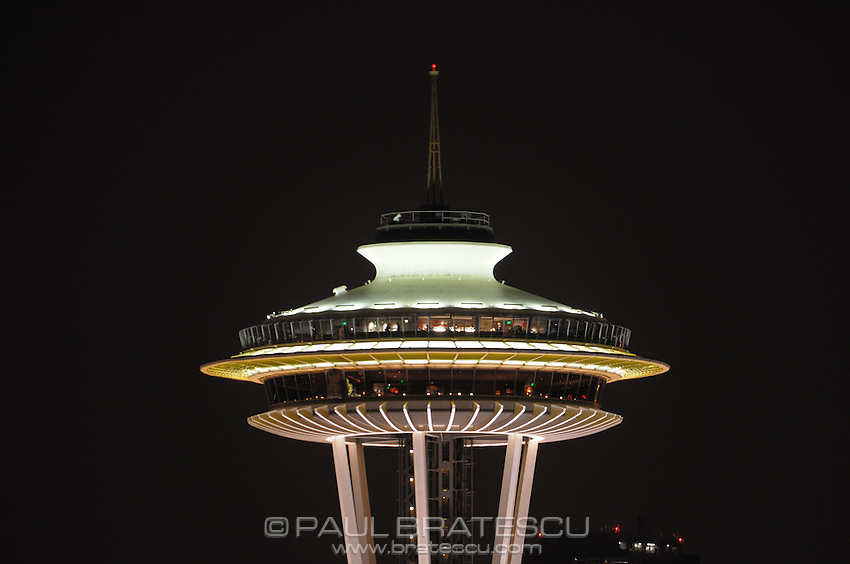 Space Needle, Seattle, Washington, Pacific Science Center