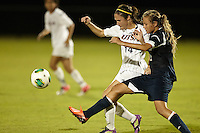 SAN ANTONIO, TX - SEPTEMBER 27, 2013: The Florida Atlantic University Owls versus the University of Texas at San Antonio Roadrunners Women's Soccer at the Park West Athletics Complex. (Photo by Jeff Huehn)