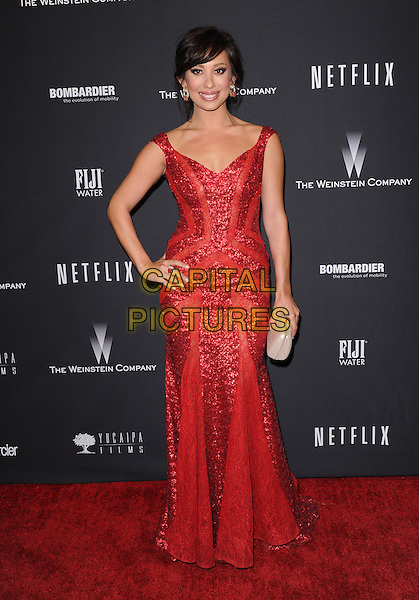 Cheryl Burke attends THE WEINSTEIN COMPANY &amp; NETFLIX 2014 GOLDEN GLOBES AFTER-PARTY held at The Beverly Hilton Hotel in Beverly Hills, California on January 12,2014                                                                               <br /> CAP/DVS<br /> &copy;DVS/Capital Pictures