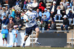 14 February 2015: North Carolina's Ryan Kilpatrick. The University of North Carolina Tar Heels hosted the University of Massachusetts Minutemen in a 2015 NCAA Division I Men's Lacrosse match. UNC won the game 20-8.