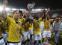 Colombia Campeona de la Copa 90 Años Liga de Fútbol del Atlántico Sub-20. 24-10-2014