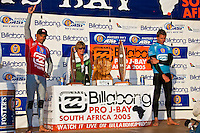 Kelly Slater (USA) The 2005 Billabong Pro at Jeffreys Bay, Eastern Cape, South Africa. The event was won by Kelly Slater (USA) in the dying seconds of the final. Slater defeated arch rival Andy Irons (HAW). Photo joliphotos.com