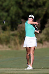 16 October 2016: Michigan State's Sybil Robinson. The Final Round of the 2016 Ruth's Chris Tar Heel Invitational NCAA Women's Golf Tournament hosted by the University of North Carolina Tar Heels was held at the UNC Finley Golf Club in Chapel Hill, North Carolina.
