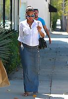 AUG 14 Zoe Saldana Seen in West Hollywood