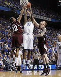 UK guard Archie Goodwin makes a basket during the second half of the men's basketball game against Mississippi State at Rupp Arena in Lexington, Ky. on Saturday, February 27, 2013. Photo by Genevieve Adams