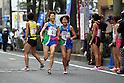 (L-R) Tomoyo Izumi, Akane Sekino (Hokuren), NOVEMBER 3, 2011 - Ekiden : East Japan Industrial Women's Ekiden Race at Saitama, Japan. (Photo by Toshihiro Kitagawa/AFLO)