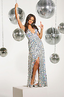Alesha Dixon wishes all lottery players the best of luck for Friday's EuroMillions £95 million estimated jackpot draw. .Photocall at Holborn studios, London.