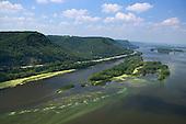 Islands and marshland Mississippi River