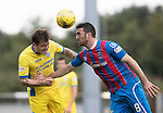 Inverness Caley Thistle v St Johnstone&hellip;27.08.16..  Tulloch Stadium  SPFL<br />Paul Paton and Ross Draper<br />Picture by Graeme Hart.<br />Copyright Perthshire Picture Agency<br />Tel: 01738 623350  Mobile: 07990 594431