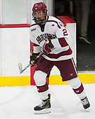 Tyler Moy (Harvard - 2) - The Harvard University Crimson defeated the Yale University Bulldogs 6-4 in the opening game of their ECAC quarterfinal series on Friday, March 10, 2017, at Bright-Landry Hockey Center in Boston, Massachusetts.