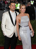 """NEW YORK CITY, NY, USA - MAY 05: Joshua Jackson, Diane Kruger at the """"Charles James: Beyond Fashion"""" Costume Institute Gala held at the Metropolitan Museum of Art on May 5, 2014 in New York City, New York, United States. (Photo by Xavier Collin/Celebrity Monitor)"""