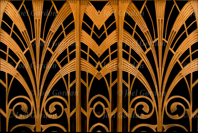 Art deco abstract detail joel gordon photography - Mh deco ...