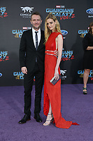 19 April 2017 - Hollywood, California - Lydia Hearst, Chris Hardwick. Premiere Of Disney And Marvel's &quot;Guardians Of The Galaxy Vol. 2&quot; held at Dolby Theatre. <br /> CAP/ADM/PMA<br /> &copy;PMA/ADM/Capital Pictures