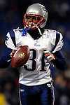18 November 2007: New England Patriots safety Brandon Meriweather warms up prior to a game against the Buffalo Bills at Ralph Wilson Stadium in Orchard Park, NY. The Patriots defeated the Bills 56-10 in their second meeting of the season...Mandatory Photo Credit: Ed Wolfstein Photo