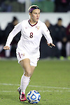 08 November 2013: Florida State's Michaela Hahn. The Florida State University Seminoles played the University of North Carolina Tar Heels at WakeMed Stadium in Cary, North Carolina in a 2013 NCAA Division I Women's Soccer match and the semifinals of the Atlantic Coast Conference tournament. Florida State won the game 2-1 in overtime.