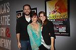 03-01-12 Colleen Zenk & kids Dylan & Kelsey at Open Night Marrying George Clooney