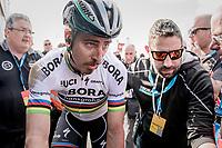 Peter Sagan (SVK/Bora-Hansgrohe) after finishing the race<br /> <br /> 101th Ronde Van Vlaanderen 2017 (1.UWT)<br /> 1day race: Antwerp &rsaquo; Oudenaarde - BEL (260km)