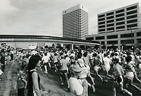 1979 June 15..Redevelopment...Downtown South (R-9)..Runners on Waterside Drive..Tamte/Wilson Photography.NEG# 79F11B34..