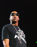 Jay-Z performs at the 1st Mariner Arena in Baltimore, MD on Tuesday, October 27, 2009.