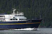 Alaska Marine Ferry, EL BARTLETT, Passage Canal, Chugach mountains, Prince William Sound, Alaska