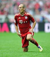 FUSSBALL   1. BUNDESLIGA  SAISON 2011/2012   1. Spieltag FC Bayern Muenchen - Borussia Moenchengladbach           07.08.2011 Arjen Robben (FC Bayern Muenchen)