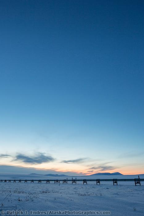 Arctic north slope, Alaska.