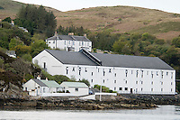 Hebrides, Scotland, May 2010. Caol Ila Distillery on the Isle of Islay. Dutch Tallship Thalassa sails between the islands along the Scotish west coast in search of the quality single malt whisky that is produced by the many distilleries. Photo by Frits Meyst/Adventure4ever.com