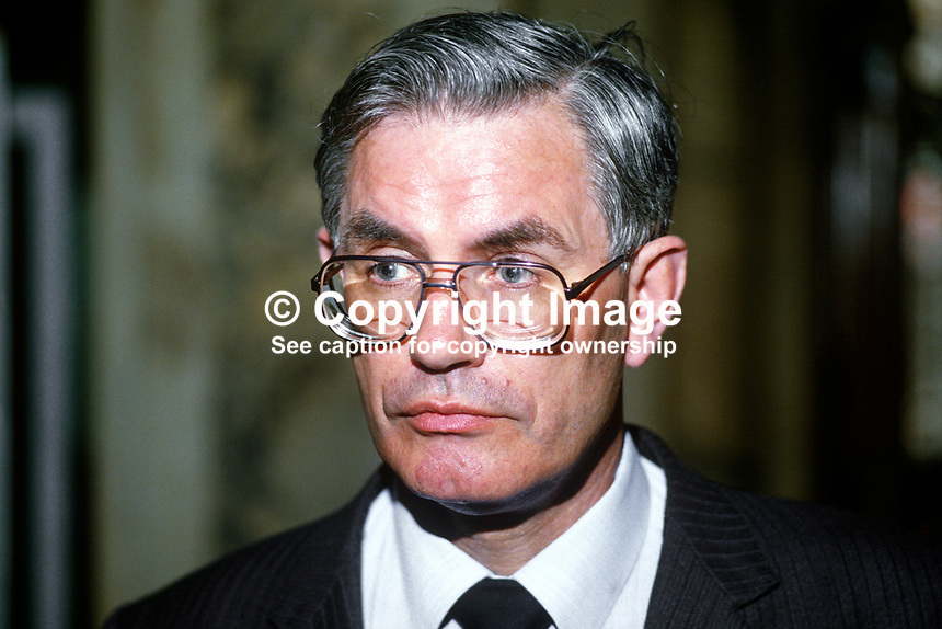 William Ross, MP, Londonderry, at Westminster, Ulster Unionist, 19850516WR1. - Ross-William-19850516WR1