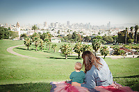 Zissman Family Photos | Mission Dolores Park San Francisco