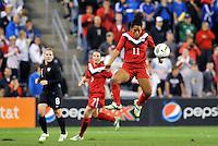 Canada midfielder Desiree Scott (11) in action.